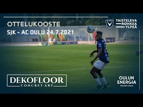 ACOTV: Dekofloor ottelukooste SJK - AC Oulu 24.7.2021 (Veikkausliiga)