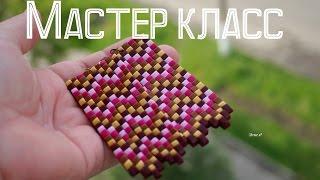 Серьги в технике барджелло√ Полимерная глина√ Мастер класс√ DIY/ Polymer clay√ Irena O