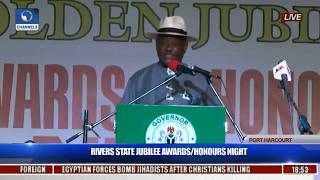 persons with corrupt practices not fit for state awards wike takes a swipe at amaechi