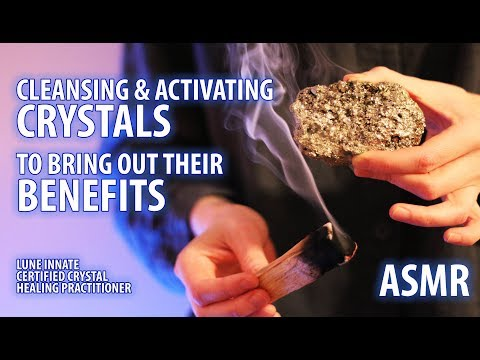Cleansing and Activating Crystals to Bring Out Their Benefits ASMR