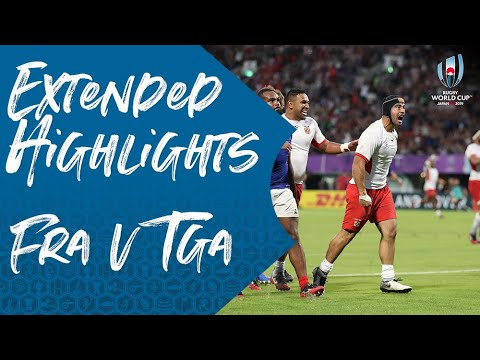 Extended Highlights: France 23-21 Tonga - Rugby World Cup 2019