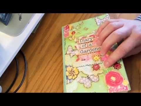 How To Decorate Old Vintage Books Into Journals Youtube