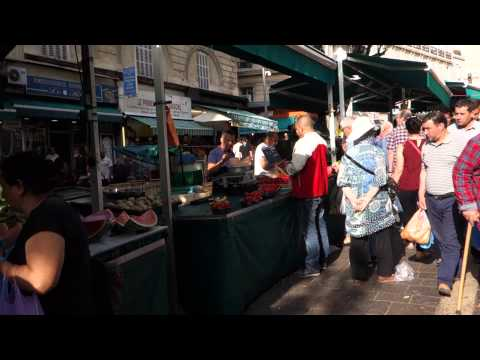 Marseille's Vibrant North African Market