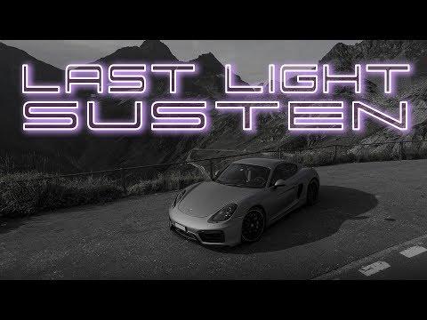 Last Light on the Sustenpass - Porsche Cayman GTS