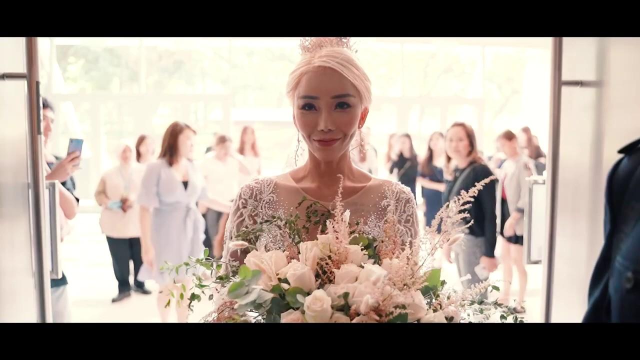 全民姐姐 黑哥 与 林云姐 婚礼 Khen Chua and Leng Yein Wedding at KLCC Convention Centre Declaration of Love 爱的宣言