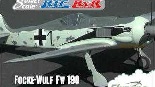 Flyzone™ Focke-Wulf Fw 190 Brushless Warbirds by Hobbico®