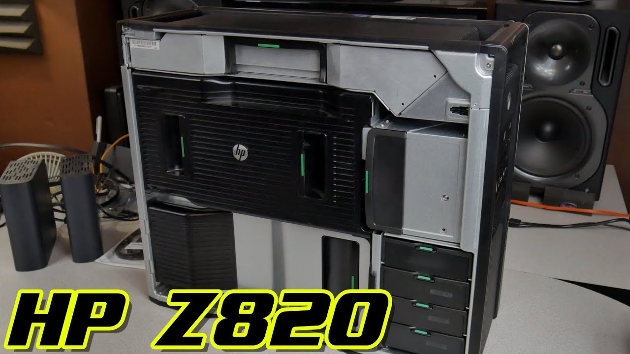 HP Z820 | HOW TO ASSEMBLE AND DISASSEMBLE