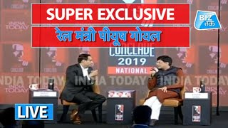 RAILWAY MINISTER PIYUSH GOYAL EXCLUSIVE | Biz Tak