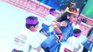 Pragathi Utsav 2018 - Grade 1 Students Dancing to Desi Girl