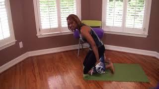 Kneeling Pose for Foot Cramps!