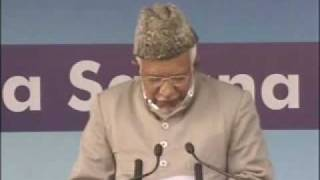 Ahmadiyya : Hazrath Maseehe Moud (as) Jalsa Qadian 2009 Day 2 Morning Part 1/3