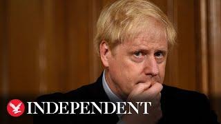Watch in full: Boris Johnson press conference on new coronavirus restrictions