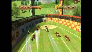 Harry Potter Quidditch World Cup Gameplay (Xbox)