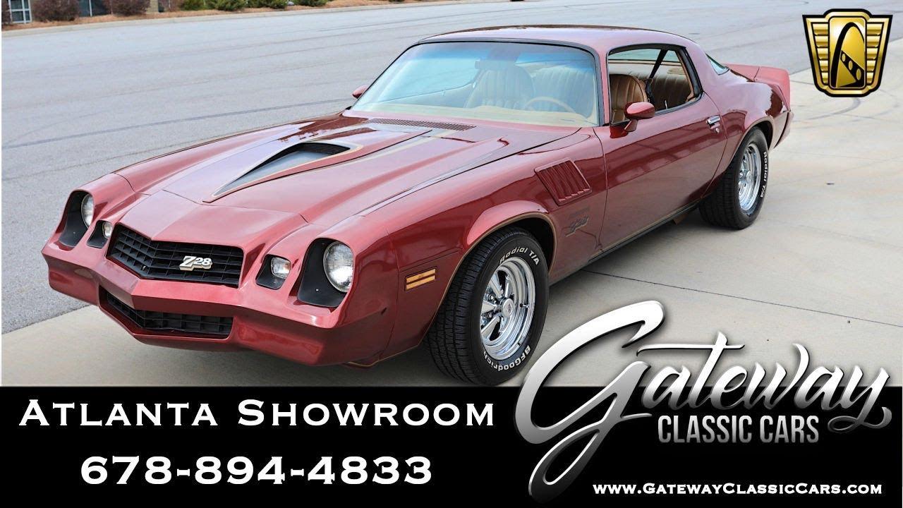 1978 Chevrolet Camaro Z-28 Gateway Classic Cars of Atlanta #1023