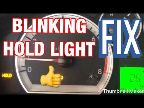 Chevy Aveo Blinking Hold Light Youtube