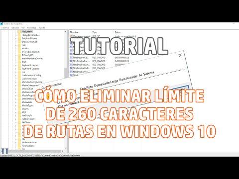 [Tutorial] Cómo eliminar límite de ruta de acceso demasiado larga en Windows 10
