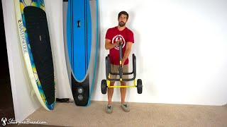 2 SUP Carrier | Paddleboard Cart | StoreYourBoard