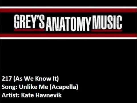 217 Kate Havnevik - Unlike Me (Acapella)