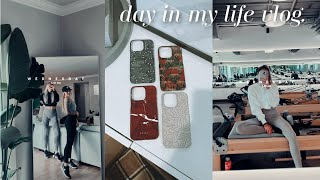 DAY IN MY LIFE: pilates, getti…