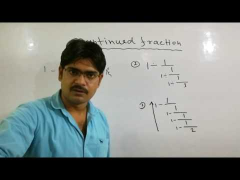 Continued Fraction Tricks (बितत भिन्य/सतत भिन/लंगड़ी भिन )