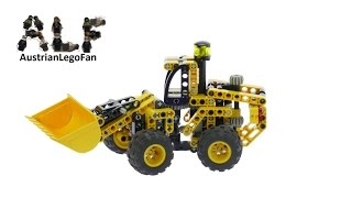 Lego Technic 8453 Front End Loader - Lego Speed Build Review