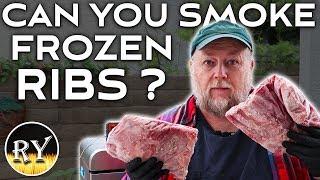 Can You Smoke Frozen Ribs?