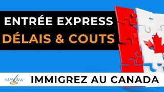 Immigrer au Canada : Entrée express - délais et coûts