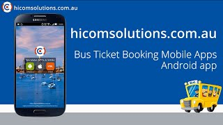 Bus Ticket Booking android app source code for sale