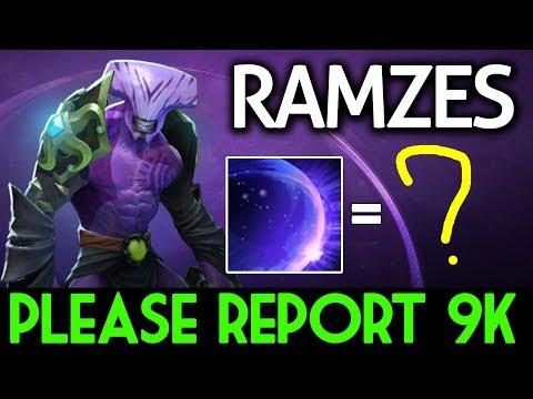 RAMZES Dota 2 [Faceless Void] Please report 9k