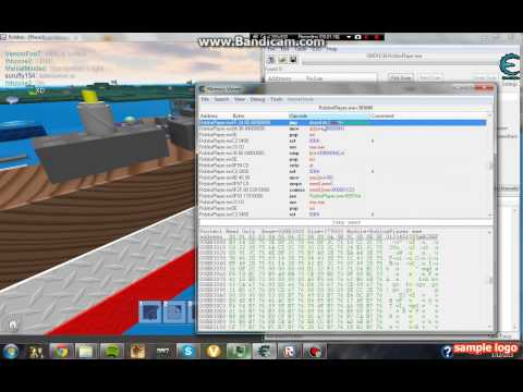 Cheat engine new code for noclip ROBLOX 2013