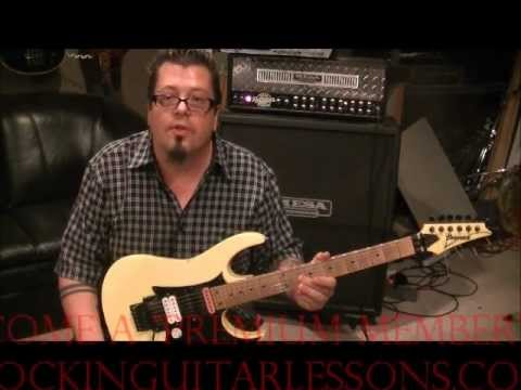 LOVERBOY - WORKING FOR THE WEEKEND - Guitar Lesson by Mike Gross