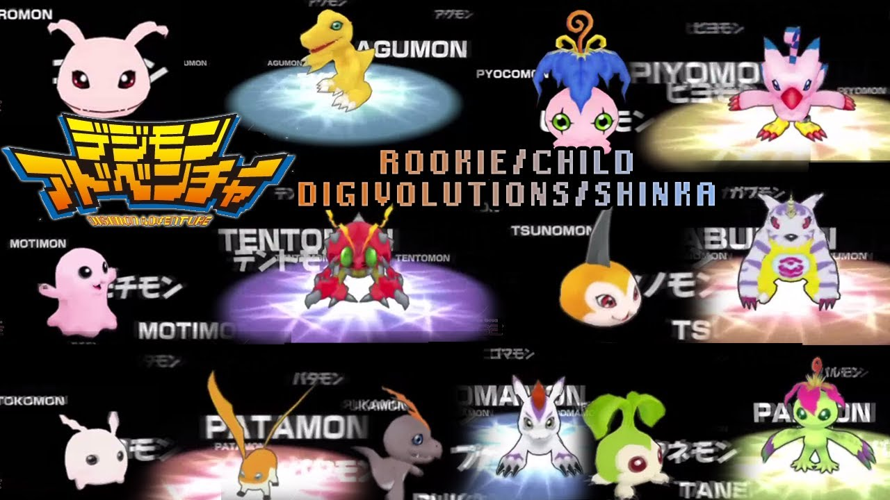 digimon evolutions season 1