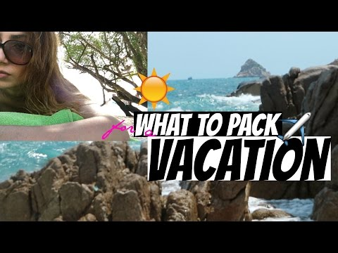 What To Pack For Vacation! Essentials + Tips | Farah Asif