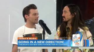 Louis Tomlinson Confirmed ONE DIRECTION is Coming Back! [The Today Show] w/ Steve Aoki