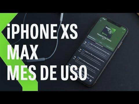 iPhone XS Max, análisis tras mes de uso: CUESTIÓN DE PRIORIDADES