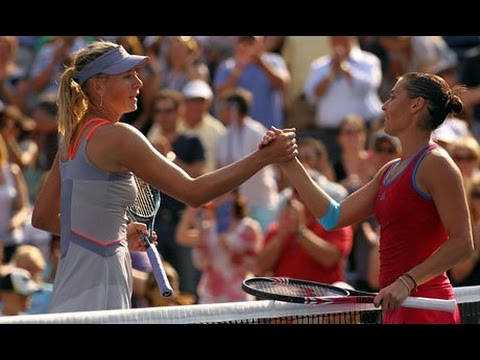Flavia Pennetta VS Maria Sharapova Highlight 2011