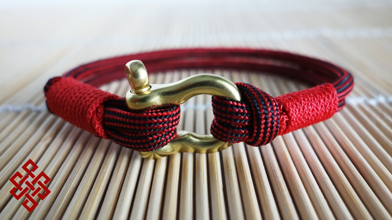 Nautical Paracord Bracelet Tutorial