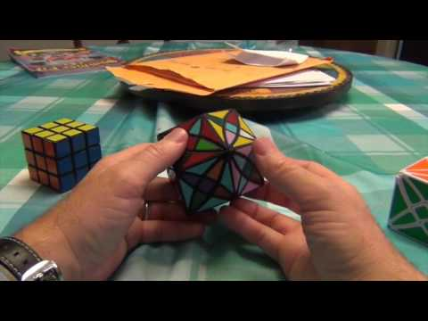 Rex Rhombic Dodecahedron Demonstration