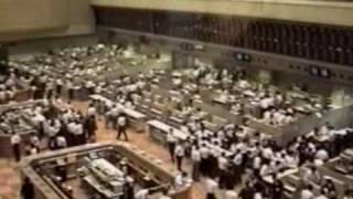 Tokyo Stock Exchange - Roaring 'Bubble' Years - (June 1990) 東京証券取引所