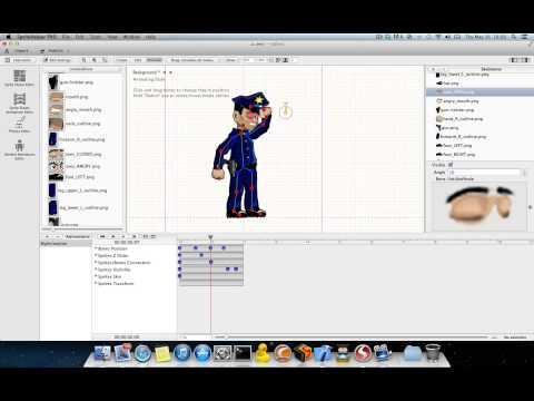 SpriteHelper 2.0 - Skeletal Animations Editor Presentation
