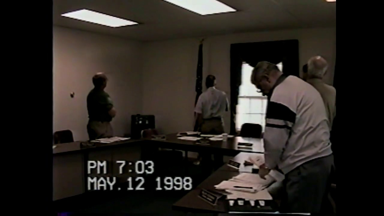 Champlain Town Board Meeting  5-12-98