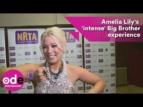 NRTAs: Amelia Lily on her Big Brother experience