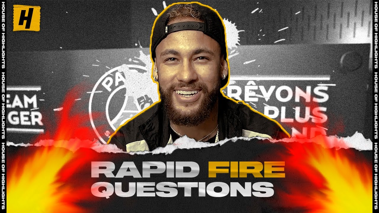 Neymar Thinks His Game is Like Steph Curry's | Rapid Fire Questions