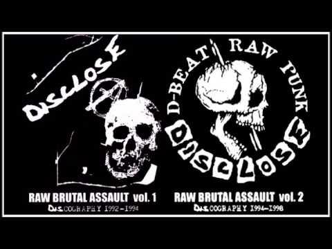 DISCLOSE - Raw Brutal Assault Vol. 1&2 (Discography 1992 - 1998) 168 Tracks // Full Compilations