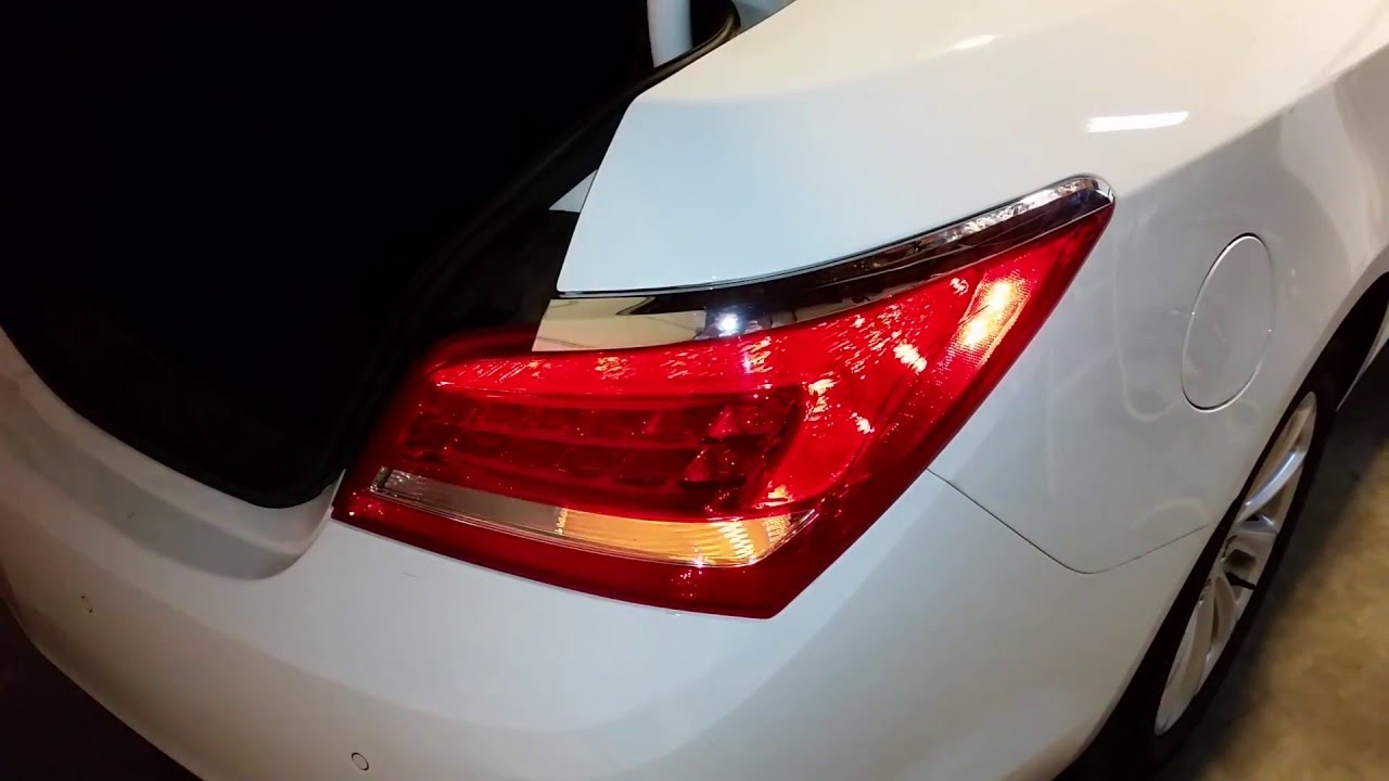 2010 2016 Buick Lacrosse Sedan Testing Tail Lights After