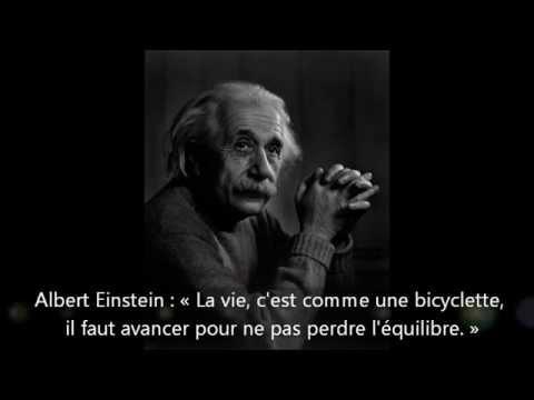 Quleques Citations Albert Einstein Youtube