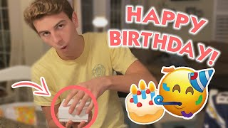Download Brennan's 17th Birthday *The Present That Made Him Dance* Mp3 and Videos