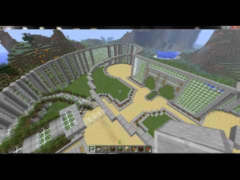 Minecraft - Construction d'un hôtel moderne - 2nd partie
