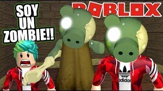 Soy un Zombie en Piggy   Peppa EXE Zombie en Casa   Juegos Karim Juega