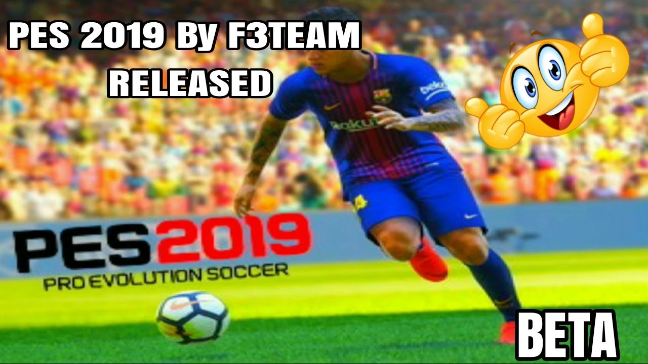 Download PES 2019 BY F3TEAM (BETA) FOR J2ME LOADER (MOBILE JAVA GAME)